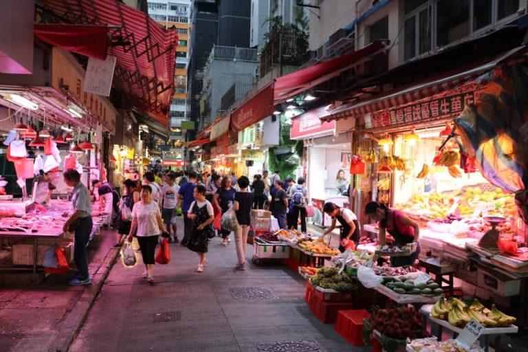 Market Hong Kong Asia