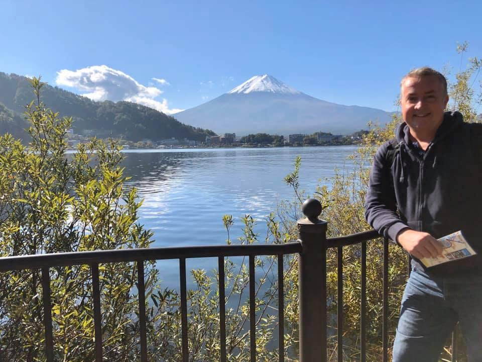 About Me, Rupert, Mount Fuji
