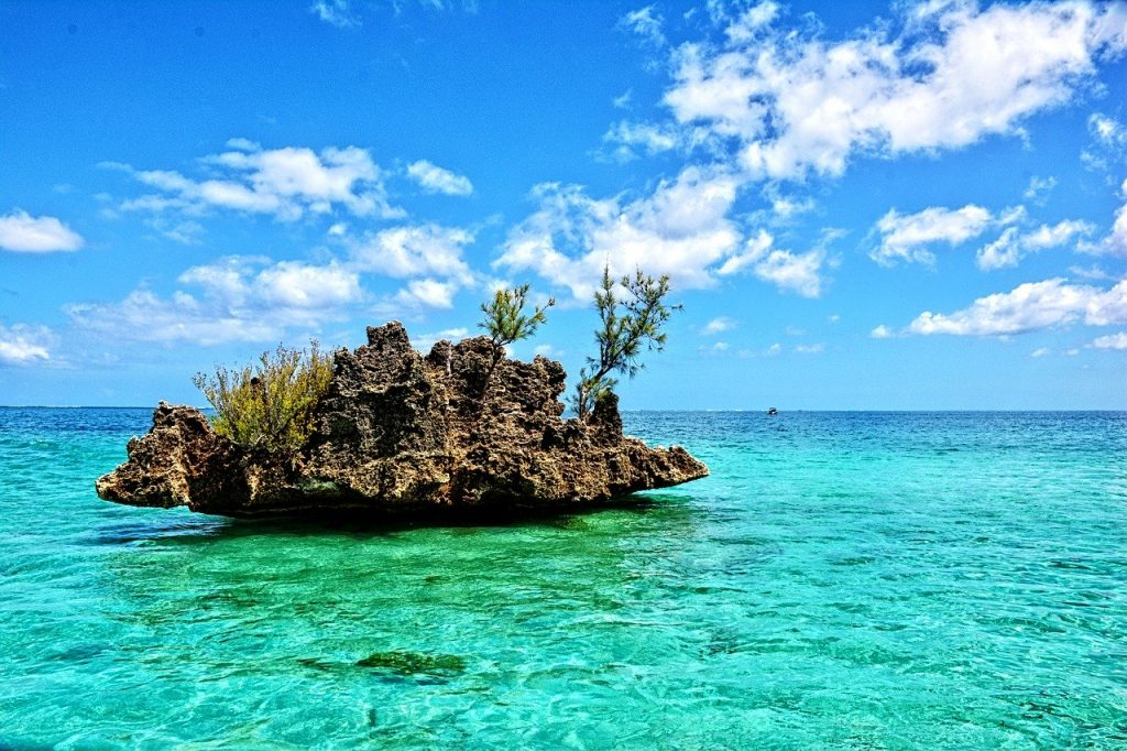 island, tropics, mauritius, africa
