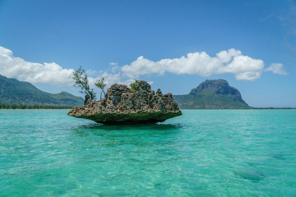 mauritius, crystal rock, sea, Indian ocean, Destinations