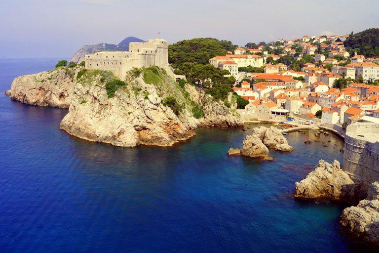 dubrovnik, sea, croatia