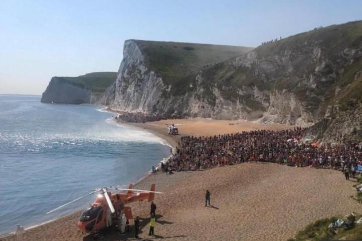 Beach, Durdle Door, Dorset UK
