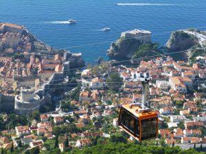 Cable Car, Dubrovnik, Croatia