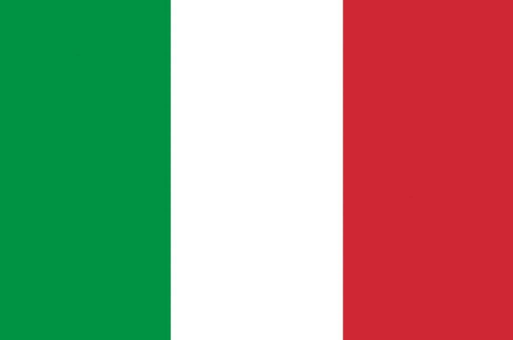 Italy Flag, Europe