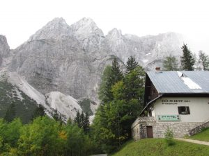 Vrsic Pass, Julian Alps, Kranjska Gora, Slovenia