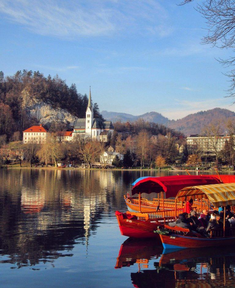 lake, bled, slovenia