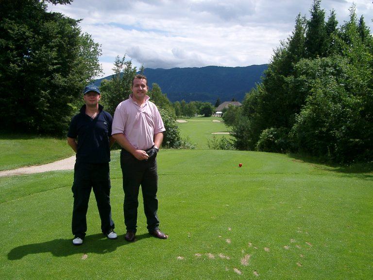 Royal Bled Slovenia Golf Trip 2003