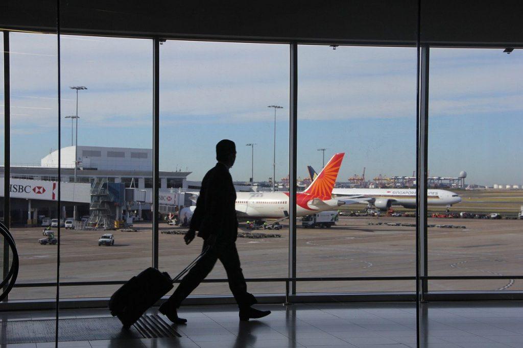 Airport Extras silhouette, passenger, travel