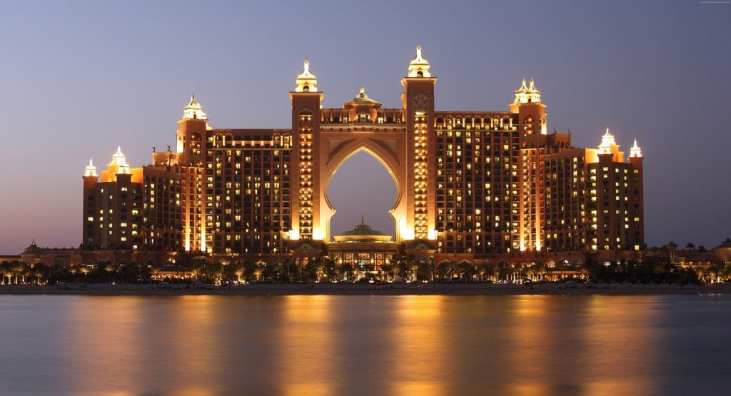 Hotels, the palm, atlantis, dubai