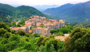 Levie Village, Corsica